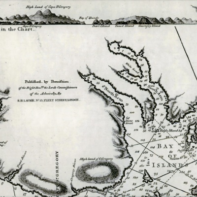 Mapping the Bay of Islands: SE